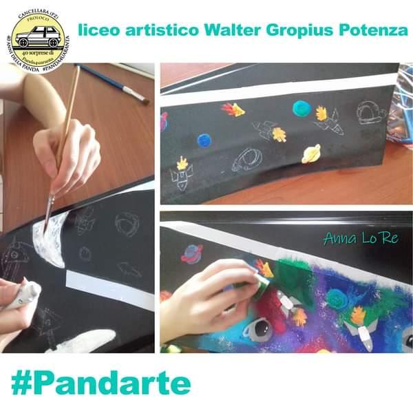 Grande successo della studentessa Anna Lo Re della IV b per il progetto #pandarte