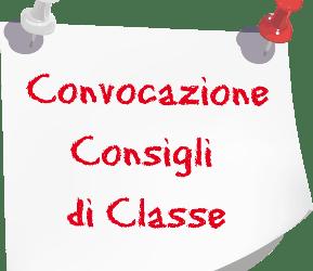 Convocazione Consigli di Classe quinte aprile 2021