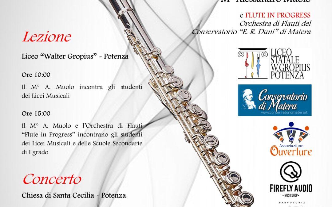 Grande attesa per Syrinx, un'orchestra di 80 flauti in concerto